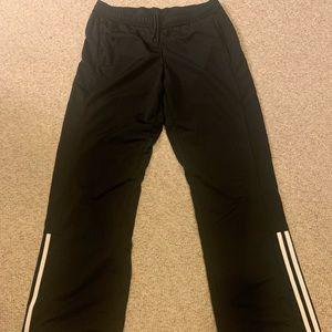 Like new! Women's Adidas track pants blk size M
